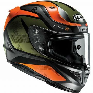 HJC RPHA 11 Deroka Orange MC7 Full Face Motorcycle Motorbike Helmet Free Pinlock